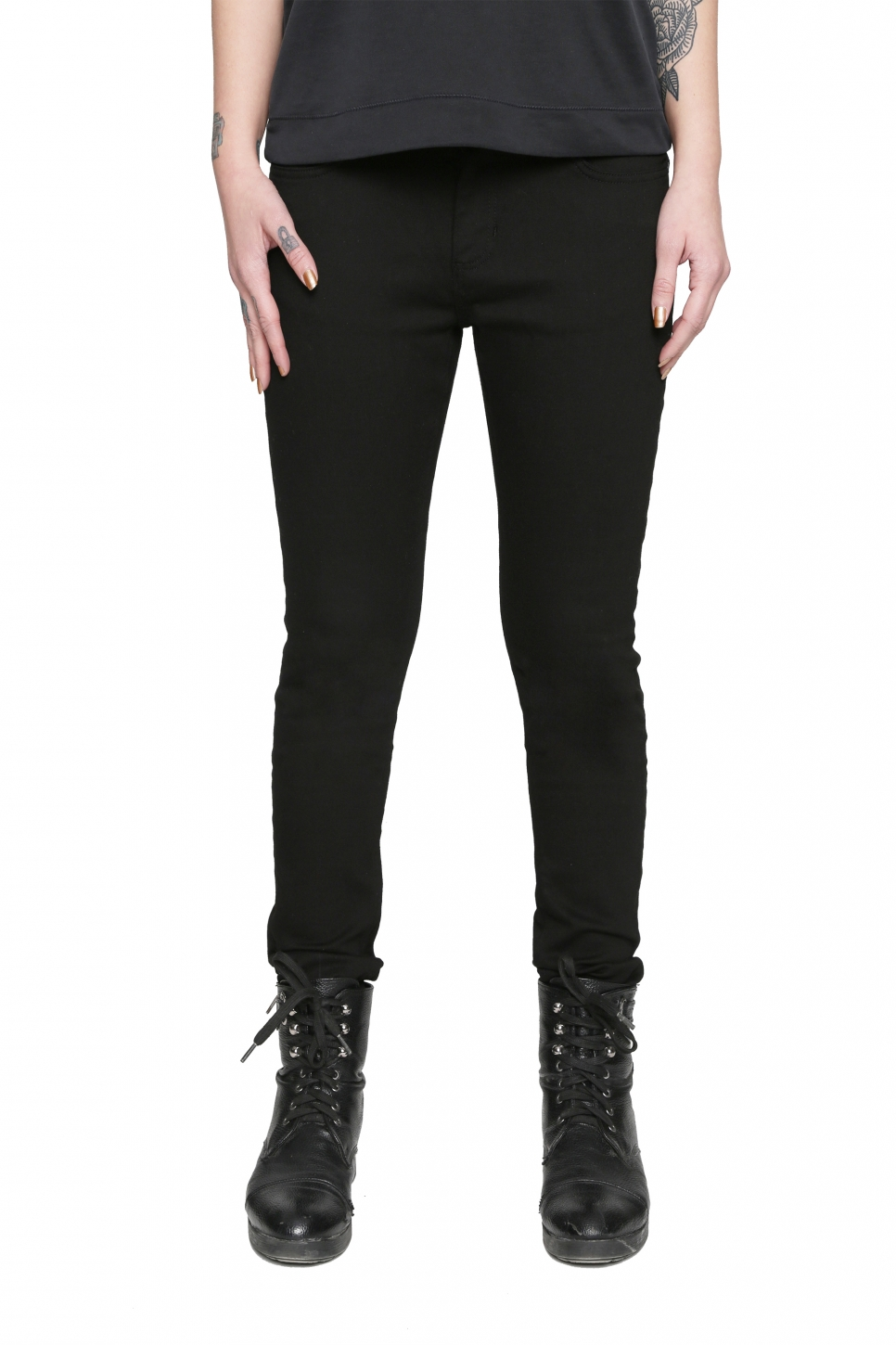 Black Bird Slim Jean Pantolon