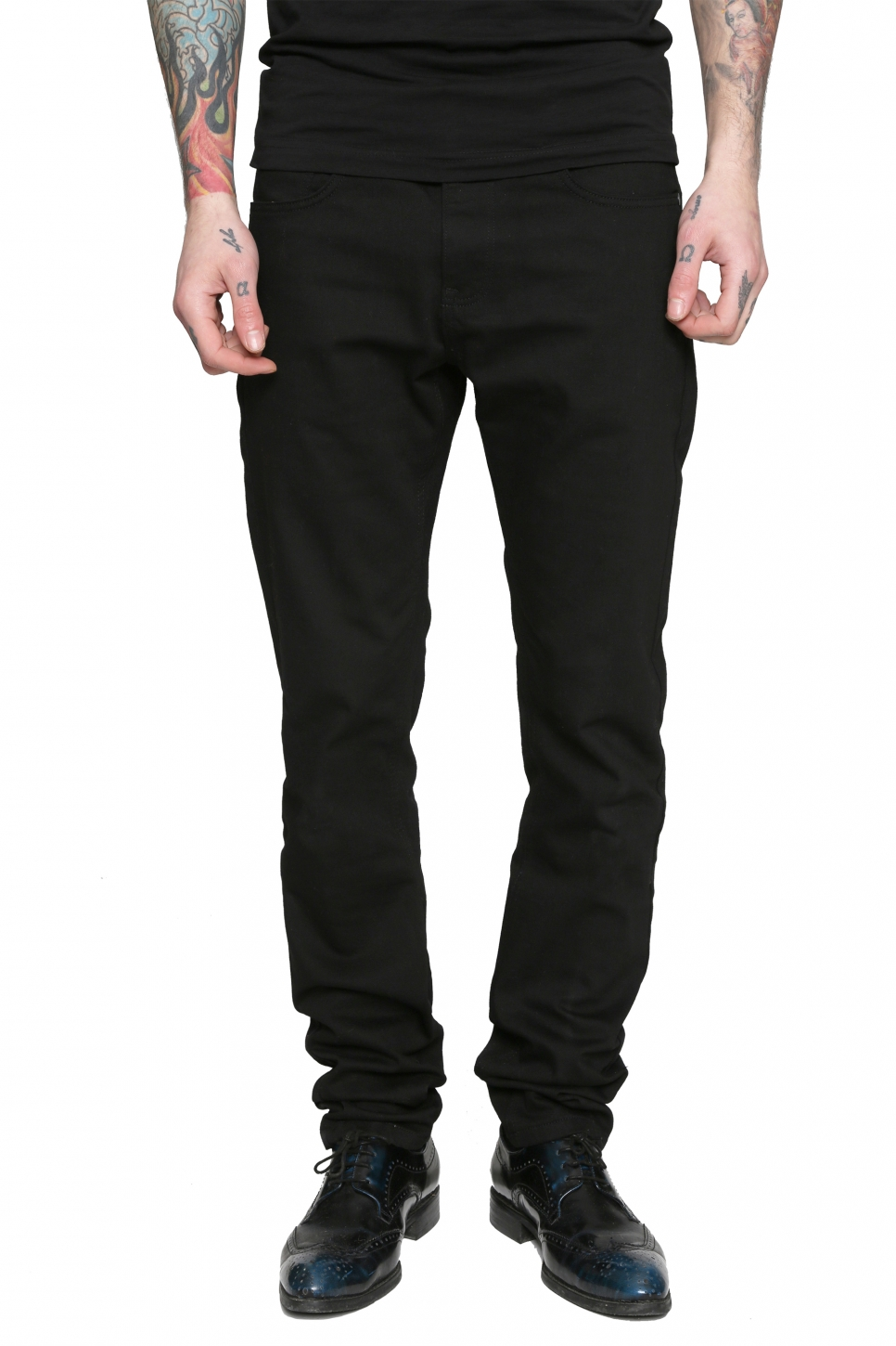 Run Black Rabbit Slim Jean Pantolon