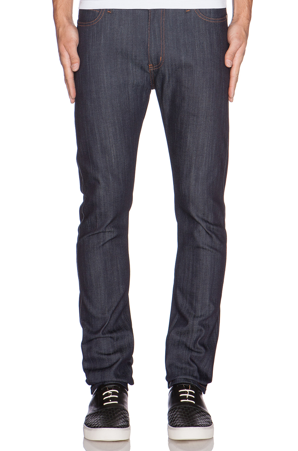 Naked & Famous Denim Stacked Guy 12oz Jean Pantolon